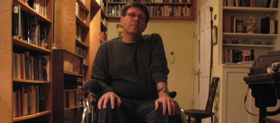 Christoph Keller in his flat (NYC, 2007)