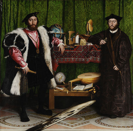 Hans Holbein t.Y. | The Ambassadors | 1533